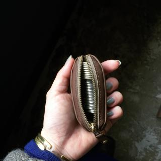 Grandpa coin purse