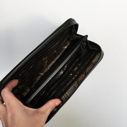 zip wallet large