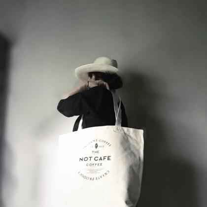 NOT cafe トートバッグ