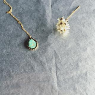 ritta Gemstone turquoise necklace