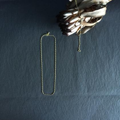 WAVE CHAIN NECKLACE
