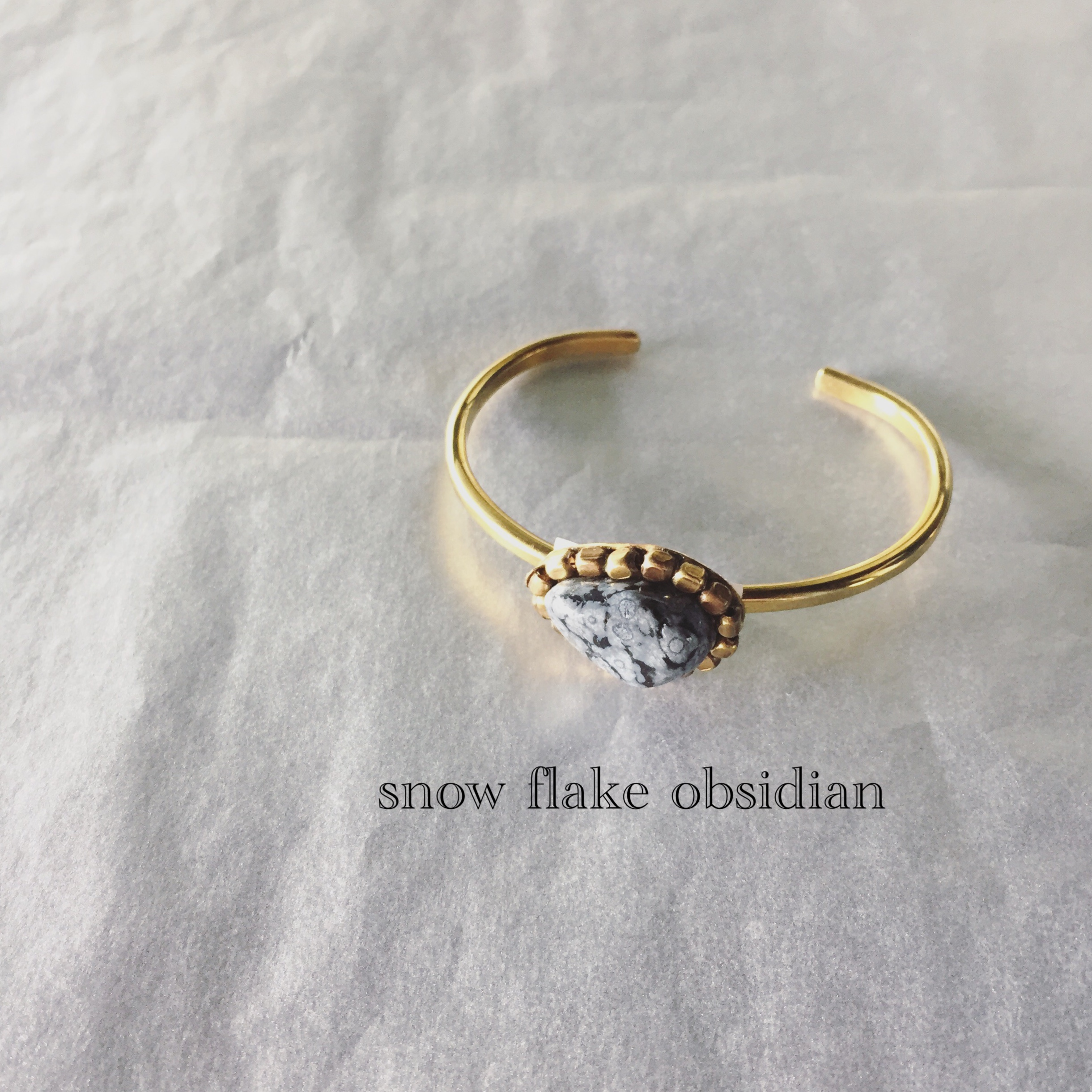 snow flake obsidian