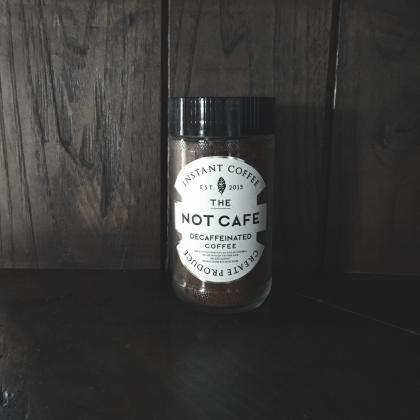 NOT CAFE instant coffee