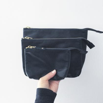 leather pouch S